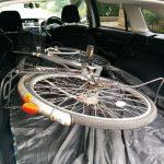 レヴォーグ、自転車を車載可能であることを確認してみた