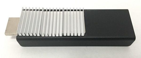 Fire TV Stick アルミ製ヒートシンクの取付 完成1